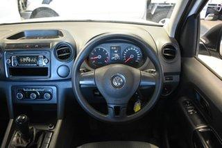2013 Volkswagen Amarok 2H MY13 TSI 300 Runner SE White 6 Speed Manual Cab Chassis.