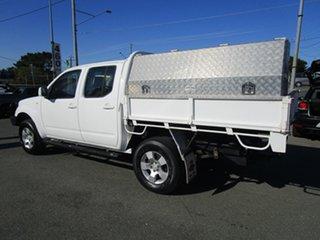 2011 Nissan Navara D40 MY11 ST White 6 Speed Manual Utility.
