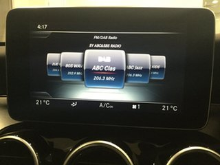 2015 Mercedes-Benz C-Class W205 806MY C250 d 7G-Tronic + Iridium Silver 7 Speed Sports Automatic