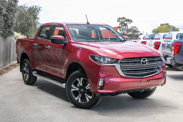 New Mazda BT-50 TFS40J XTR Mornington, 2021 Mazda BT-50 TFS40J XTR Red Volcano 6 Speed Sports Automatic Utility