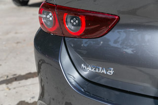 2021 Mazda 3 BP2SLA G25 SKYACTIV-Drive Astina Machine Grey 6 Speed Sports Automatic Sedan