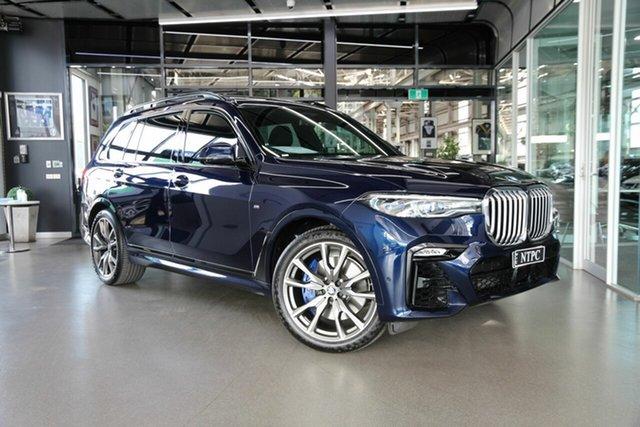 Used BMW X7 G07 xDrive30d Steptronic North Melbourne, 2020 BMW X7 G07 xDrive30d Steptronic Blue 8 Speed Sports Automatic Wagon