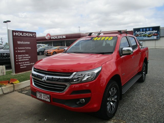 Used Holden Colorado RG MY16 LTZ Crew Cab North Rockhampton, 2016 Holden Colorado RG MY16 LTZ Crew Cab Red 6 Speed Sports Automatic Utility
