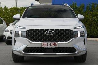 2020 Hyundai Santa Fe Tm.v3 MY21 Highlander DCT White 8 Speed Sports Automatic Dual Clutch Wagon