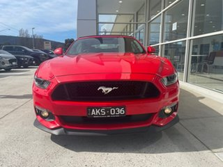 2016 Ford Mustang FM GT SelectShift Red 6 Speed Sports Automatic Convertible.