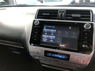 2018 Toyota Landcruiser Prado GDJ150R MY17 VX (4x4) Silver Pearl 6 Speed Automatic Wagon