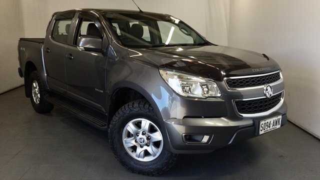 Used Holden Colorado RG MY13 LT Crew Cab Elizabeth, 2013 Holden Colorado RG MY13 LT Crew Cab Grey 6 Speed Sports Automatic Utility