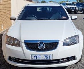 2011 Holden Calais VE II MY12 White 6 Speed Sports Automatic Sedan.