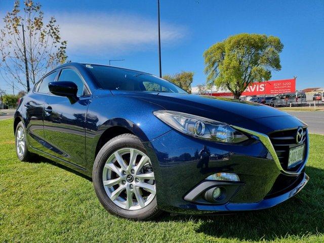 Used Mazda 3 BM5478 Touring SKYACTIV-Drive Hindmarsh, 2015 Mazda 3 BM5478 Touring SKYACTIV-Drive Blue 6 Speed Sports Automatic Hatchback