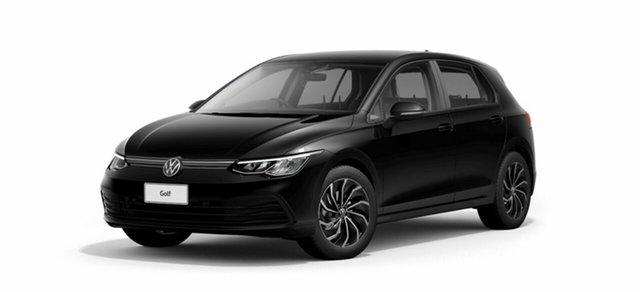 New Volkswagen Golf 8 MY21 110TSI Port Melbourne, 2021 Volkswagen Golf 8 MY21 110TSI Black 8 Speed Sports Automatic Wagon