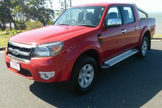 2009 Ford Ranger PK XLT Crew Cab Red 5 Speed Automatic Utility