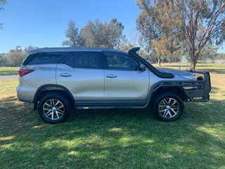 2018 Toyota Fortuner GUN156R Crusade Silver Sky 6 Speed Automatic Wagon.