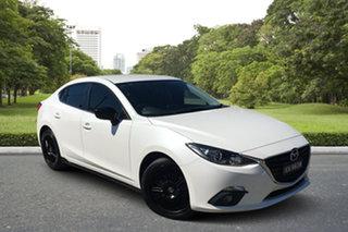 2014 Mazda 3 BM5238 SP25 SKYACTIV-Drive White 6 Speed Sports Automatic Sedan.