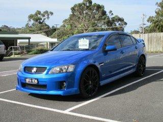 2009 Holden Commodore VE SS V Voodoo Blue Automatic Sedan.