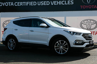 2016 Hyundai Santa Fe DM Series II (DM3) Highlander CRDi (4x4) White 6 Speed Automatic Wagon.