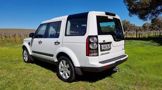 2016 Land Rover Discovery Series 4 L319 MY16.5 SDV6 SE White 8 Speed Sports Automatic Wagon