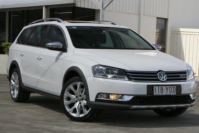 Used Volkswagen Passat Type 3C MY14.5 Alltrack DSG 4MOTION Bundamba, 2014 Volkswagen Passat Type 3C MY14.5 Alltrack DSG 4MOTION Candy White 6 Speed