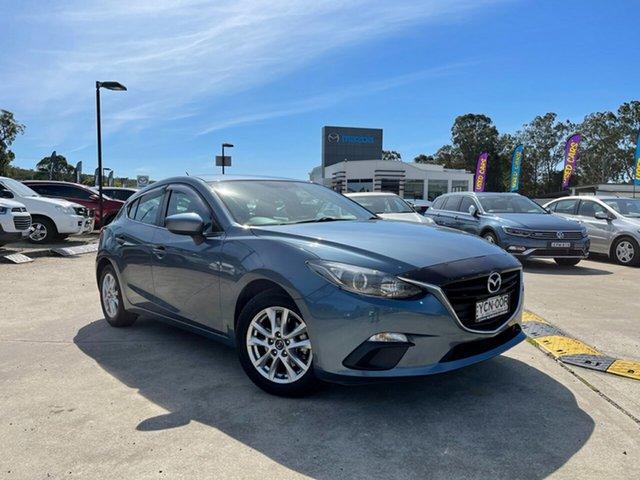 Used Mazda 3 BM5478 Touring SKYACTIV-Drive Glendale, 2014 Mazda 3 BM5478 Touring SKYACTIV-Drive Blue 6 Speed Sports Automatic Hatchback