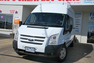 2013 Ford Transit VM MY12 Update High (LWB) White 6 Speed Manual Van.