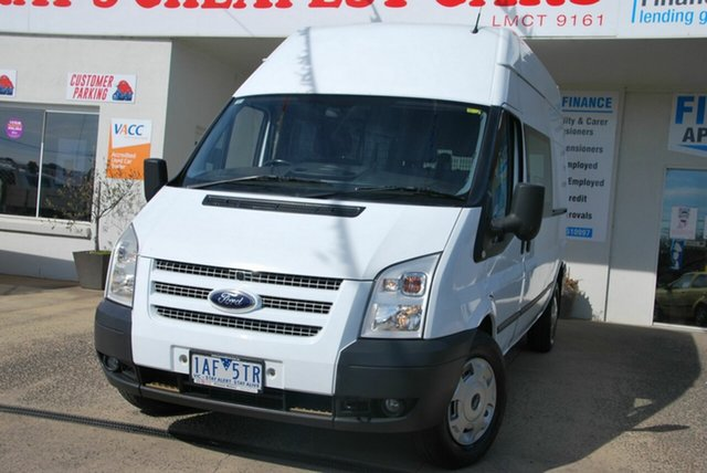Used Ford Transit VM MY12 Update High (LWB) Wendouree, 2013 Ford Transit VM MY12 Update High (LWB) White 6 Speed Manual Van