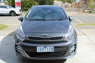 2015 Kia Rio UB MY16 S-Premium Grey 4 Speed Sports Automatic Hatchback.