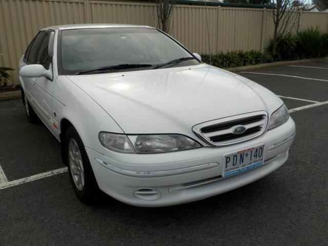 Used Ford Fairmont EL Ghia Newtown, 1998 Ford Fairmont EL Ghia White 4 Speed Automatic Sedan