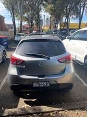 2015 Mazda 2 DJ2HAA Neo SKYACTIV-Drive Silver, Chrome 6 Speed Sports Automatic Hatchback.