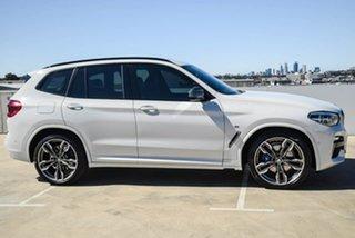2019 BMW X3 G01 M40i Steptronic White 8 Speed Automatic Wagon.