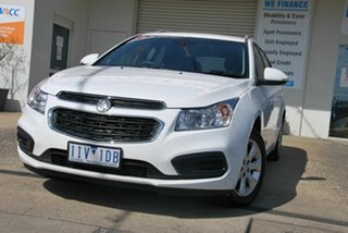 2016 Holden Cruze JH MY16 CD White 6 Speed Automatic Sportswagon.