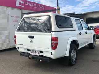 2009 Holden Colorado RC MY09 LX Crew Cab White 4 Speed Automatic Utility