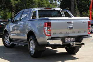 2016 Ford Ranger PX MkII XLT Double Cab Silver 6 Speed Sports Automatic Utility.