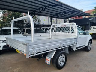 2016 Holden Colorado RG MY16 LS (4x2) White 6 Speed Automatic Cab Chassis.