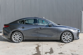 2021 Mazda 3 BP2SLA G25 SKYACTIV-Drive Astina Machine Grey 6 Speed Sports Automatic Sedan.
