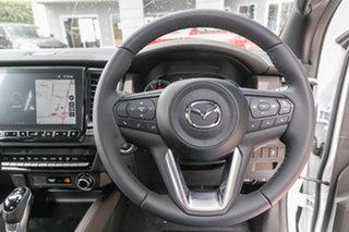 2021 Mazda BT-50 TFS40J Thunder Ice White 6 Speed Sports Automatic Utility