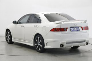 2007 Honda Accord Euro CL MY2007 Limited Edition White 5 Speed Automatic Sedan.