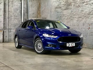 2016 Ford Mondeo MD Titanium Blue 6 Speed Sports Automatic Dual Clutch Hatchback.