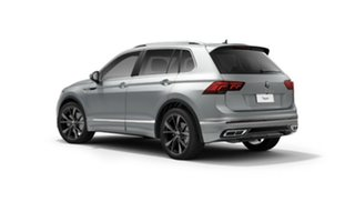 2021 Volkswagen Tiguan 5N MY22 162TSI R-Line DSG 4MOTION Silver 7 Speed Sports Automatic Dual Clutch.