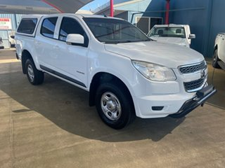 2016 Holden Colorado RG MY16 LS (4x2) White 6 Speed Automatic Crew Cab Pickup.