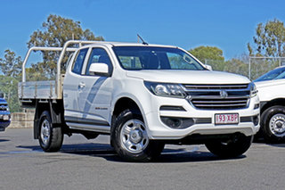 2017 Holden Colorado RG MY17 LS Space Cab White 6 Speed Sports Automatic Cab Chassis.