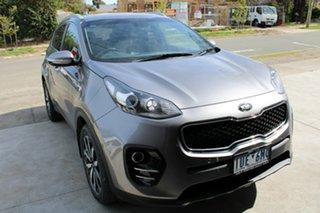 2017 Kia Sportage QL MY17 SLi 2WD Billet Silver 6 Speed Sports Automatic Wagon.