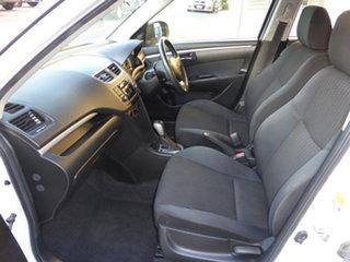 2014 Suzuki Swift FZ GL White 4 Speed Automatic Hatchback