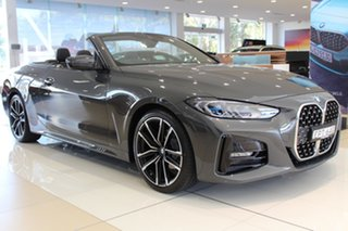 2020 BMW 4 Series G23 420i Steptronic M Sport Dravit Grey Metallic 8 Speed Sports Automatic.