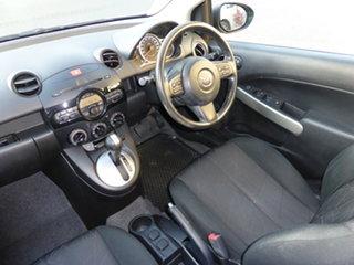 2013 Mazda 2 DE MY12 Genki Silver 4 Speed Automatic Hatchback.