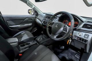 2016 Mitsubishi Triton MQ MY17 GLX 4x2 White 5 Speed Sports Automatic Cab Chassis