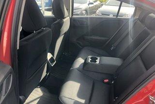 2018 Honda City GM MY19 VTi Red 1 Speed Constant Variable Sedan