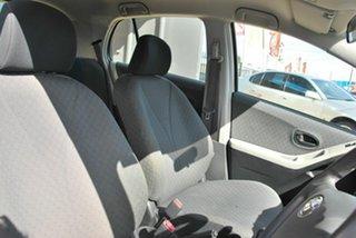 2010 Toyota Yaris NCP90R 10 Upgrade YR Silver 5 Speed Manual Hatchback