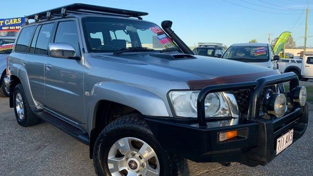 Used Nissan Patrol GU IV ST-S (4x4) Loganholme, 2005 Nissan Patrol GU IV ST-S (4x4) Silver 4 Speed Automatic Wagon