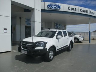 2017 Holden Colorado LS MY17 LS (4x4) White 6 Speed Automatic Dual Cab.