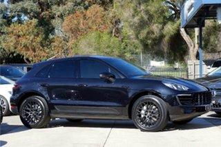 2014 Porsche Macan 95B MY15 S PDK AWD Black 7 Speed Sports Automatic Dual Clutch Wagon.