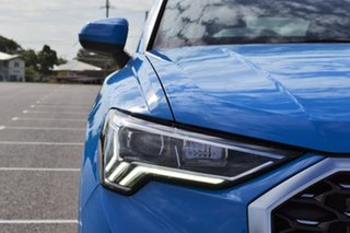 2020 Audi Q3 F3 MY21 35 TFSI Sportback S Tronic S Line Blue 6 Speed Sports Automatic Dual Clutch.